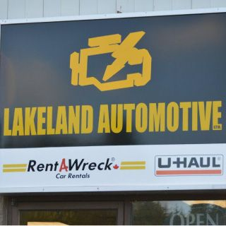 Lakeland Automotive sign